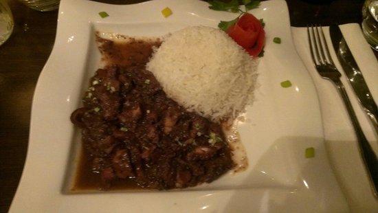 Restaurant Ile de la Reunion: Poulpe