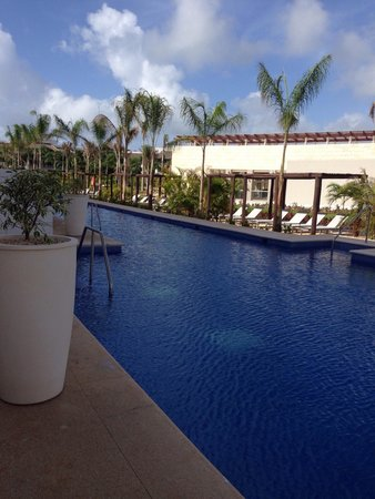 Platinum Yucatán Princess All Suites & Spa Resort: Another view from our room