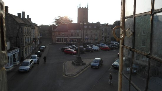 The Kings Arms Hotel: View from the window