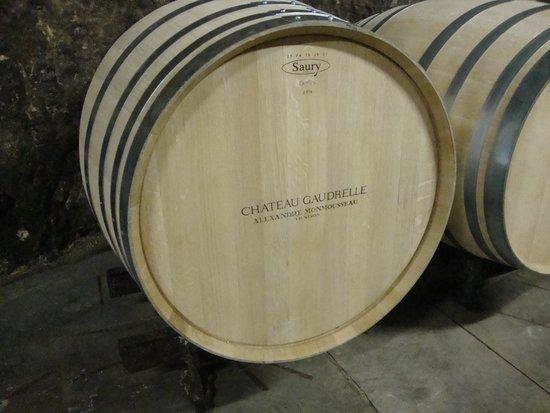 Chateau Gaudrelle, Vins de Vouvray: barrel