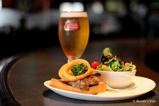 Woody's Pub: Steak Sandwhich Thursday special $10