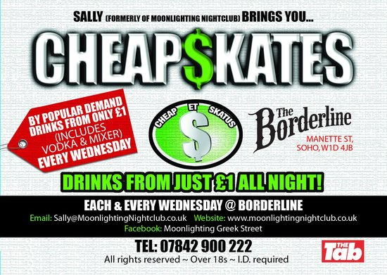 Cheap$kates @ Borderline