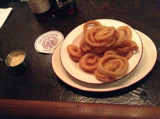 Hog Penny Onion Rings