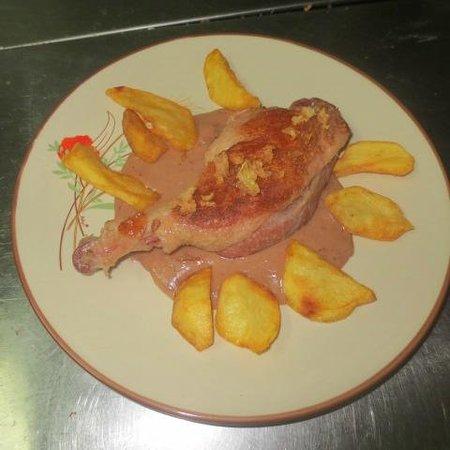 Pato a la naranja picture of la cocina del cardenal for Pato a la naranja