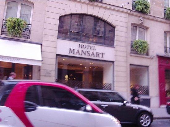 Hotel Mansart - Esprit de France : Main door