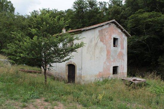 Farnese, Италия: Rudere nelle vicinanze della cascata del Salabrone