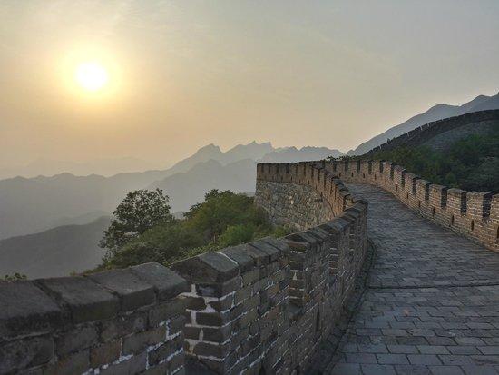 The Great wall of Jiankou-The Great Wall Alternative: Arrivée sur Mutianyu