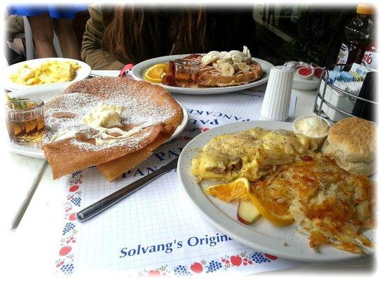 Paula's Pancake House Breakfast