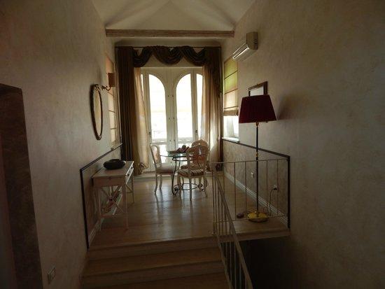 Villa Helvetia: salottino