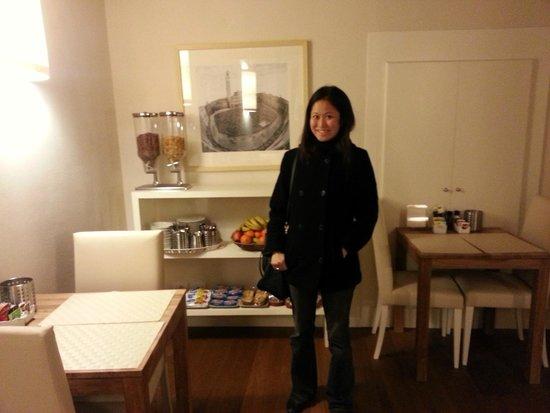 B&B Il Corso: Dining area