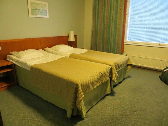 Hotel Hamina: The bed