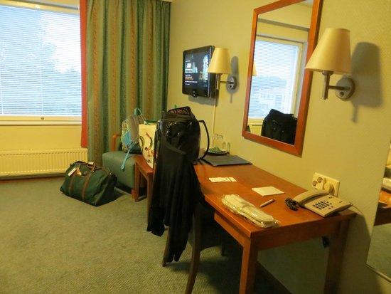 Hotel Hamina: The room
