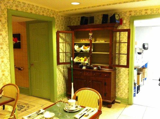 Rittenhouse 1715, A Boutique Hotel: Cafe