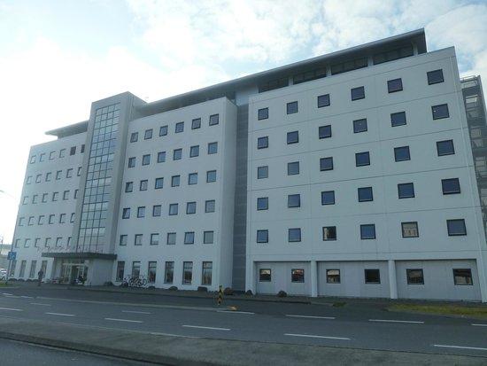 From Outside Picture Of Hotel Cabin Reykjavik Tripadvisor