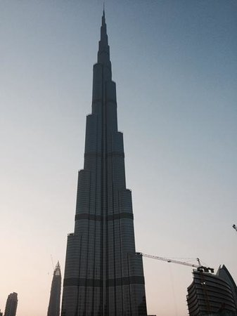 Big Bus Tours: burj khalifa depuis le bus