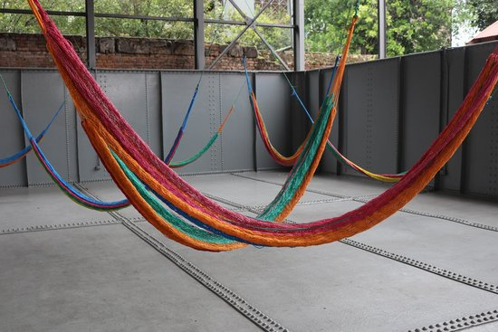 Museum of Contemporary Art and Design: hammock display
