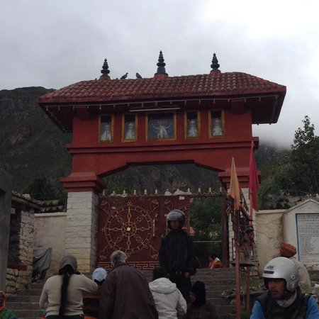 Muktinath Temple (Chumig Gyatsa): Temple main entrance. Just less than a Km to the main temple from here.