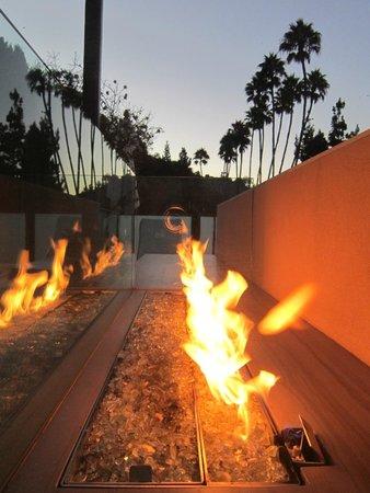 Hotel Bel-Air : Firepit Premier Canyon Suite