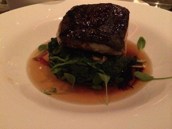 Tender Restaurant: black cod
