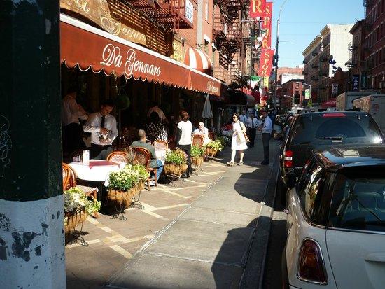 Da Gennaro Restaurant : Enjoy Little Italy
