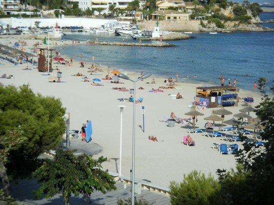 Hotel Agua Beach: 3rd fl. left hand beach view