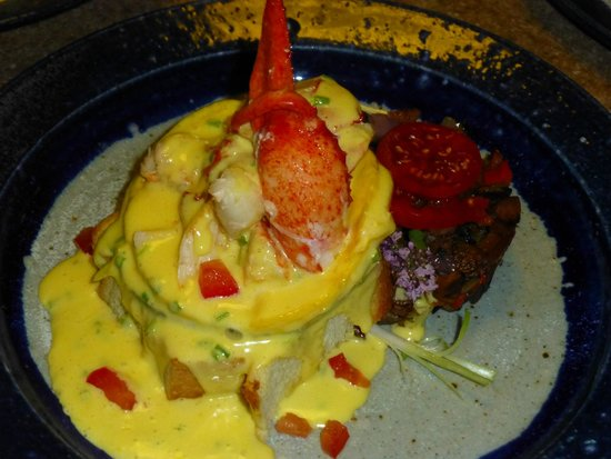Bluefish Bed & Breakfast Lobster Benedict