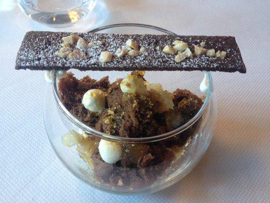 Toqué! : Dessert Poire Chocolat