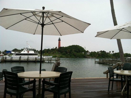 Jetty's : Jettys rest.  view from outside seating