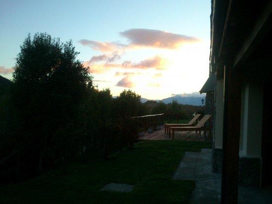 Challhuaquen Lodge: Solarium