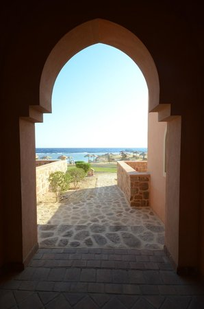 great views of the Red Sea.