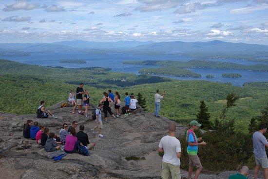 Lake Winnipesaukee, NH. - Picture of Mount Major, Alton Bay ...