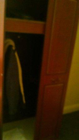 Essex Inn Hotel: Only one door on the wardrobe