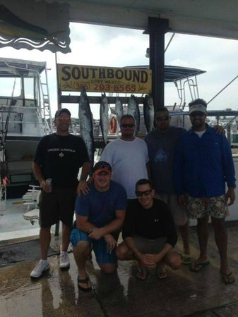 Southbound Charters : Fishing Party