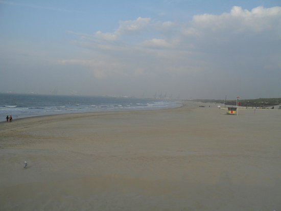 Hotel Riant Sejour: Blankenberge Beach