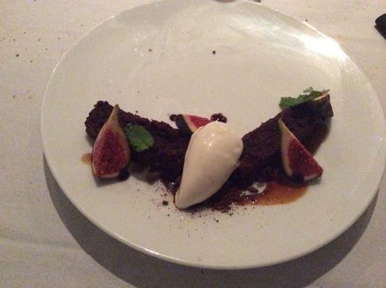 Arsenic Restaurant : brownie
