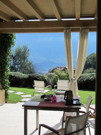 Ca dell'Era Residence Relais: Terasse mit Aussicht