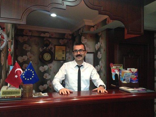 Saba Sultan Hotel: Hilmi Akar