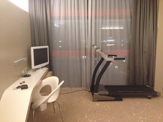 Hotel SB Padua: La stanza con la palestra