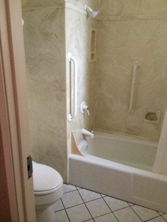 Sedona Motel: Clean bathroom