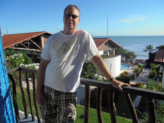 D Beach Resort: varanda do apartamento