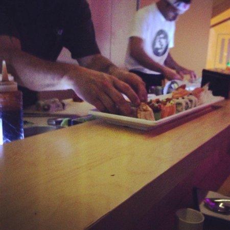 Sushi Pearl: Work in progress