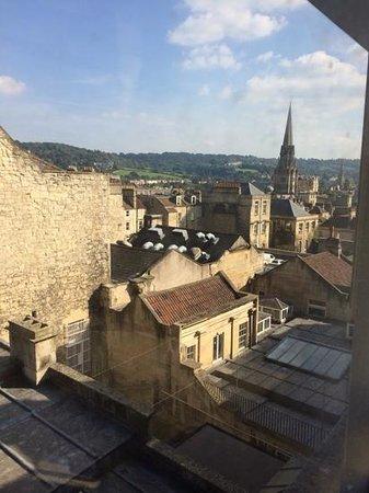 ميلسومز هوتل باث: view from our room