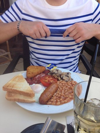 Bar Dona Ana : And that's just a small breakfast