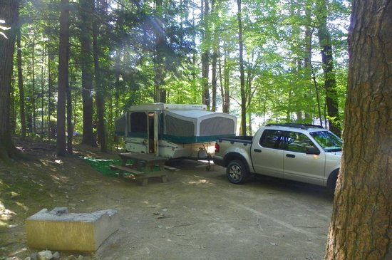 King Phillips Campground : Spacious camp site