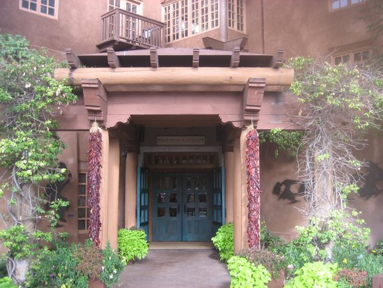 Hotel Santa Fe, The Hacienda and Spa : Hotel Entry