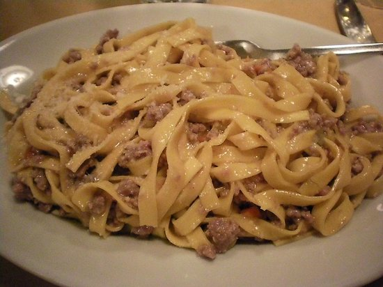 Osteria Chiana : The noodles were tough