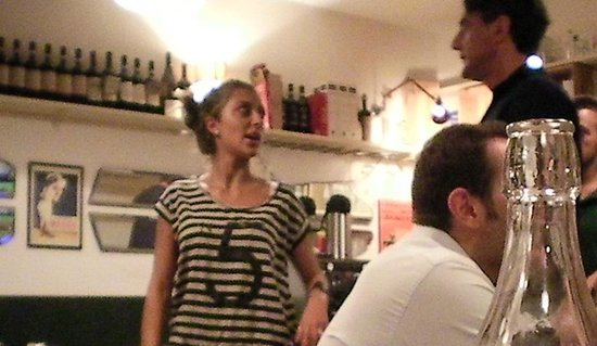 Osteria Chiana : the wait staff was going bonkers