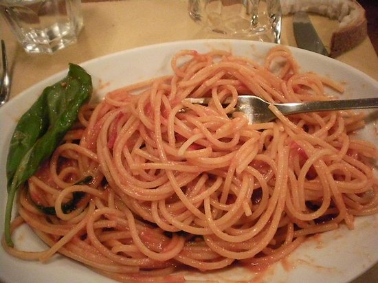 Osteria Chiana : The food was just OK