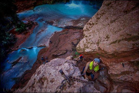 Dean Outdooor: Above Muni Waterfall.