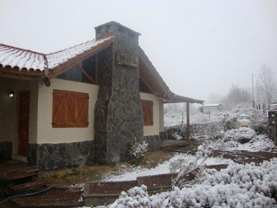 Vista al cordon del plata picture of las espuelas casas - Casas en montanas ...